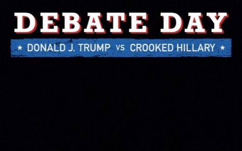 Trump campaign launches controversial Snapchat filter before tonight's Presidential debate