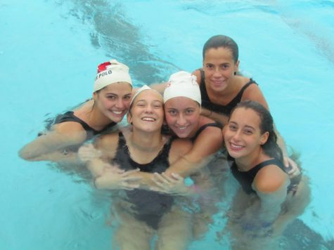 (Left to right) Charlotte Cricri, Kennedy East, Vanda Mate, Bella Ramas and Lili Rosen.