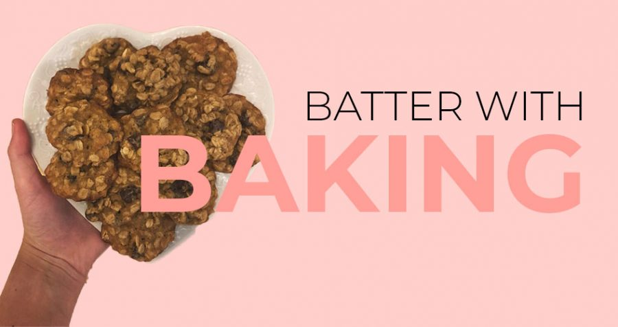 Batter with baking