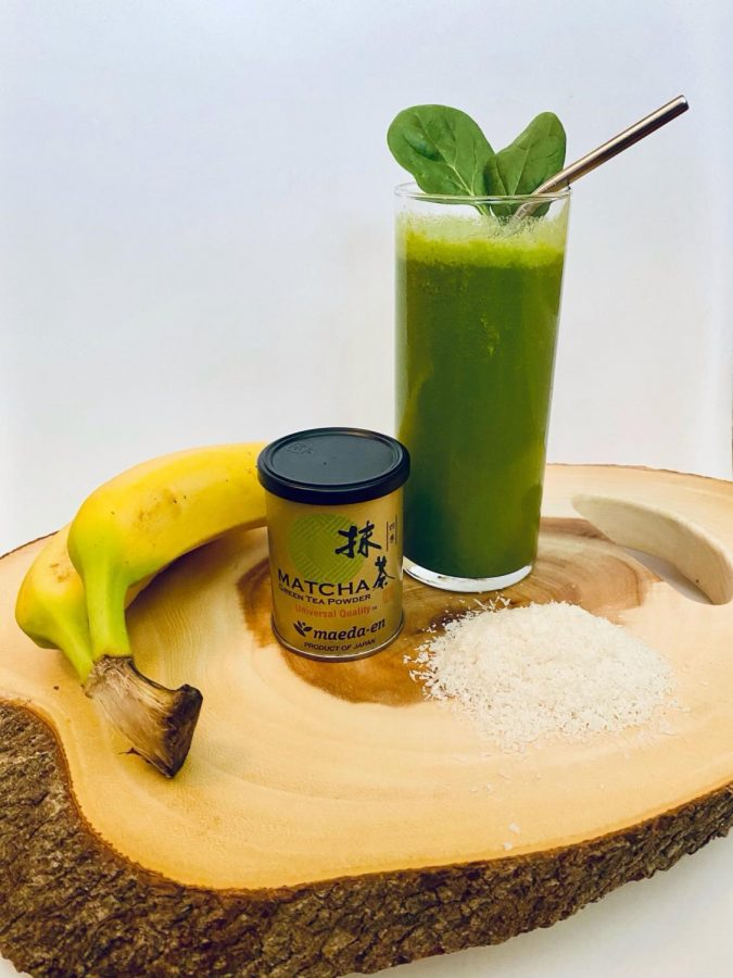 Coconut+Matcha+Smoothie