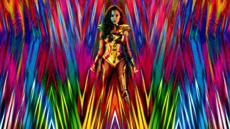"The first poster for ""Wonder Woman 1984,"" starring Gal Gadot."