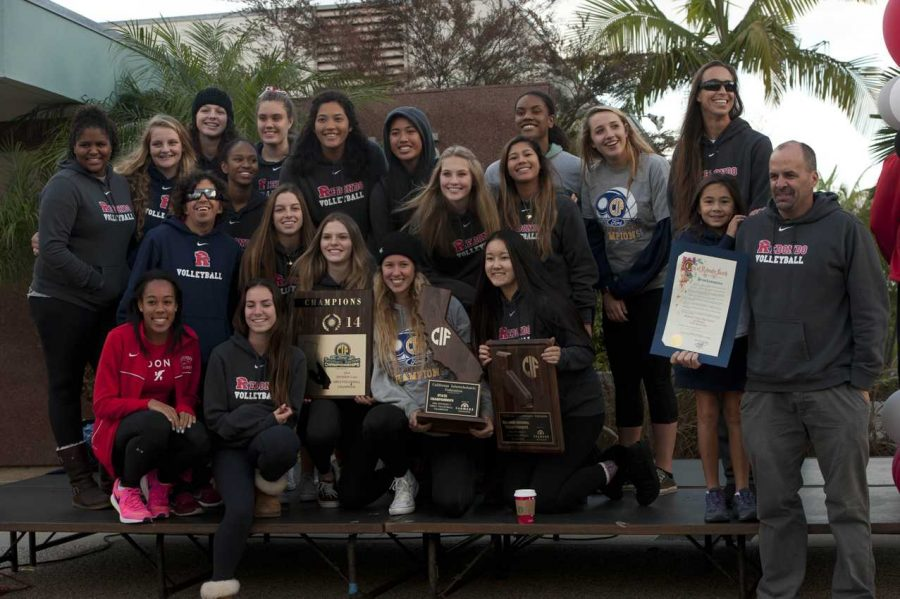 Recognition Parade - volleyball team
