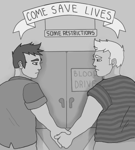 Gaysblooddrivecartoon