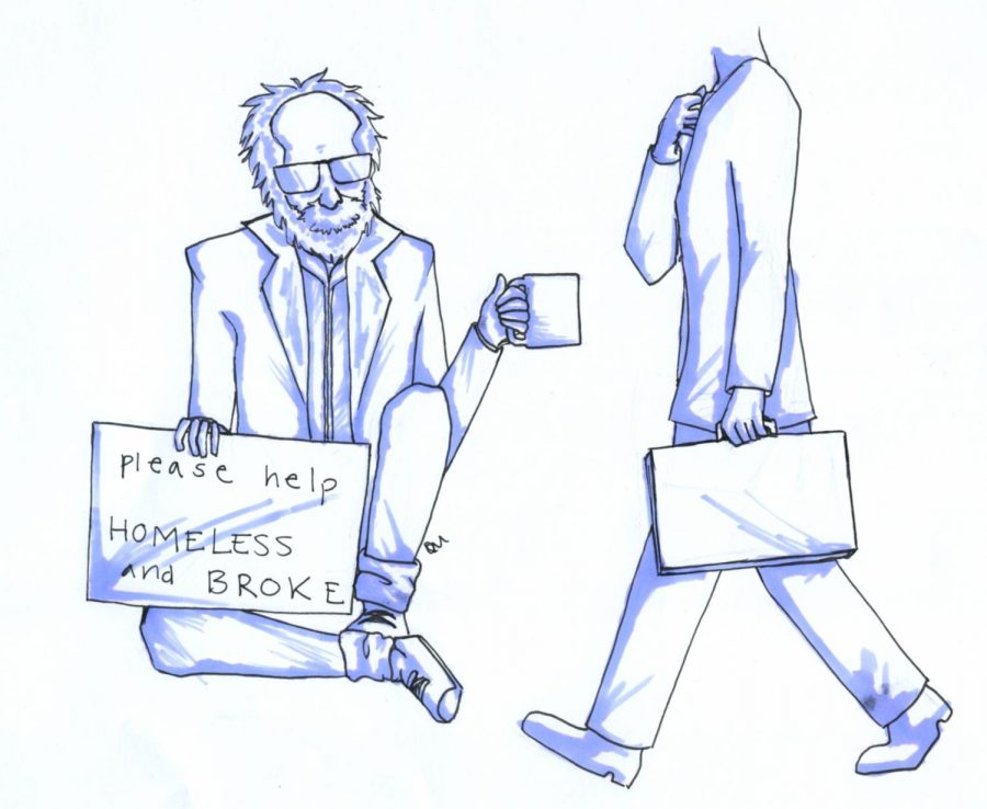 People should take greater initiative to combat homelessness