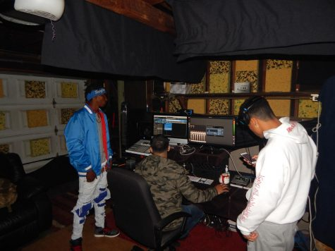 Jordan Jackson writes and records original songs