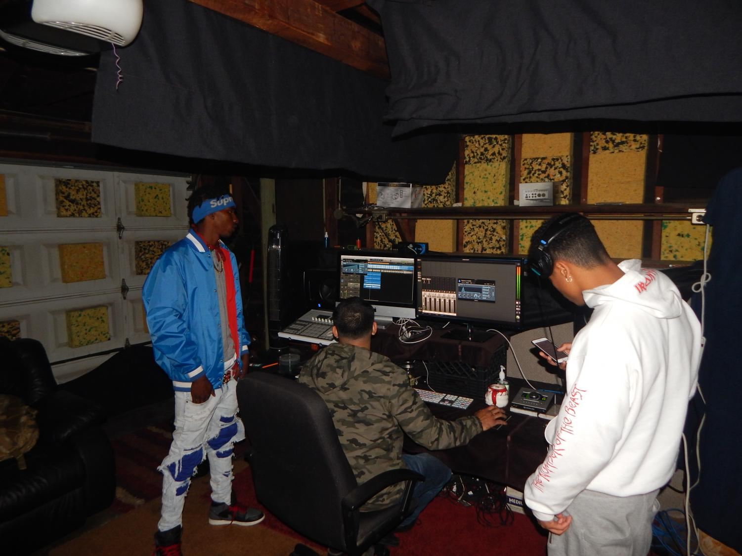 In the Studio