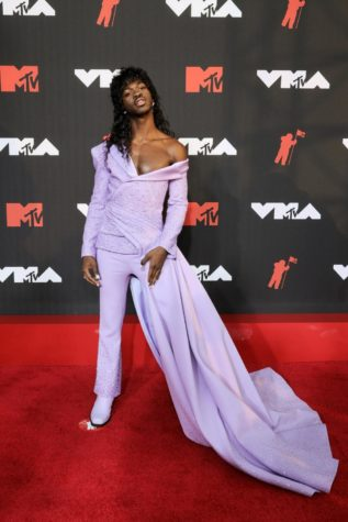 Lil Nas X at the 2021 Video Music Awards.